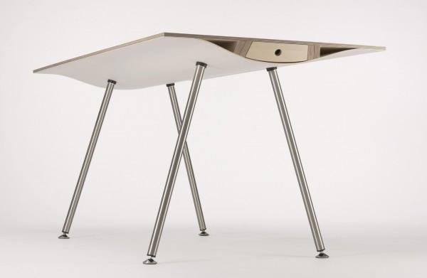 WAVE Tisch weiß