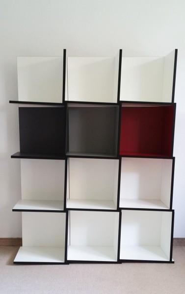 TRI Modulregal, 12 Module , versch Farben