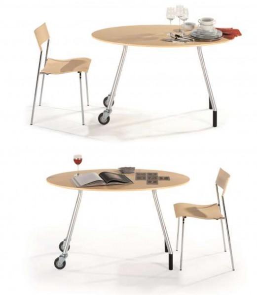 PT, ovaler Tisch